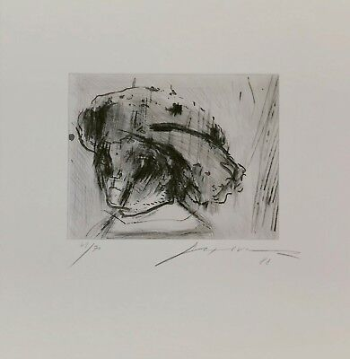 "JOSE LUIS CUEVAS ""REMBRANDT AS A CHILD"" 1988 