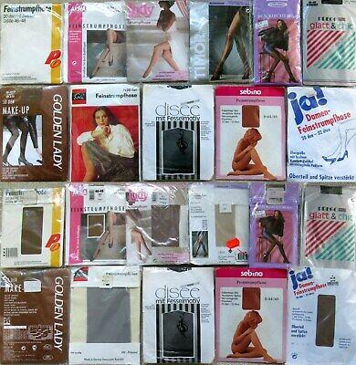 11 x STRUMPFHOSEN - TIGHTS - ARWA - ESDA - LADY - VINTAGE - OVP - GR. 46 - 48 online kaufen