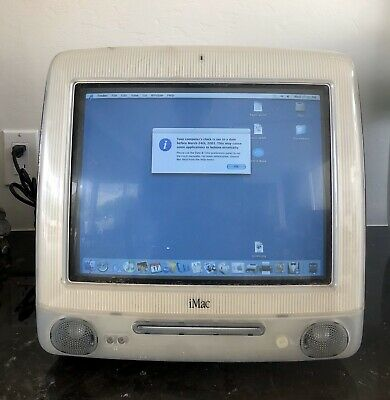 Apple iMac G3 400 DV Special Edition Graphite / Ice M5521 W/ Power Cord