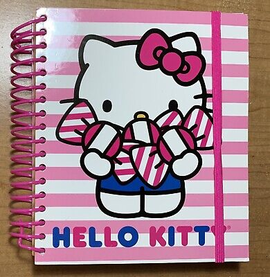 NEW Sanrio Hello Kitty Journal Planner Weekly Monthly Agenda Book 120 sheets
