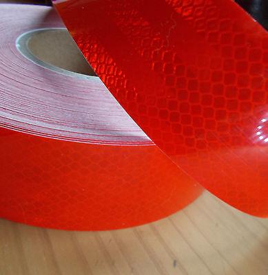 Konturmarkierung Reflektorfolie Rot Selbstklebend Meterware 2,95/m