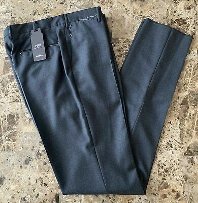 $575 New PT01 Dark Gray Pants size 52 ITALY 36 US