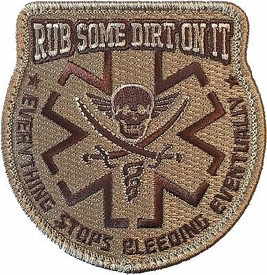 Rub Some Dirt On It - Arid Desert - Embroidered Morale Patch