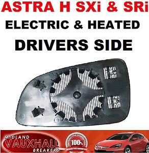 Astra H Sri Mirror Glass