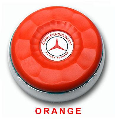 Zieglerworld Table Shuffleboard Medium Size Weights Pucks Black orange