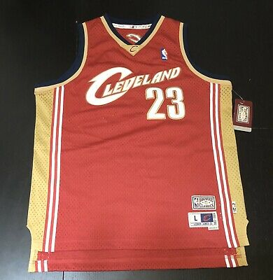 NBA Hardwood Classics Cleveland Cavaliers Lebron James Youth Jersey