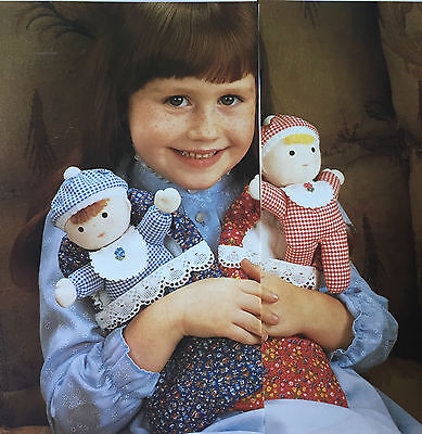 SEWING PATTERN Jean Greenhowe Baby Bunting Dolls & Sleeping Bag Toy Girls RARE