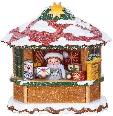 Hubrig Winterkinder 2018 Wiki Weihnachtspostamt Postamt elektr. Beleuchtbar 10cm