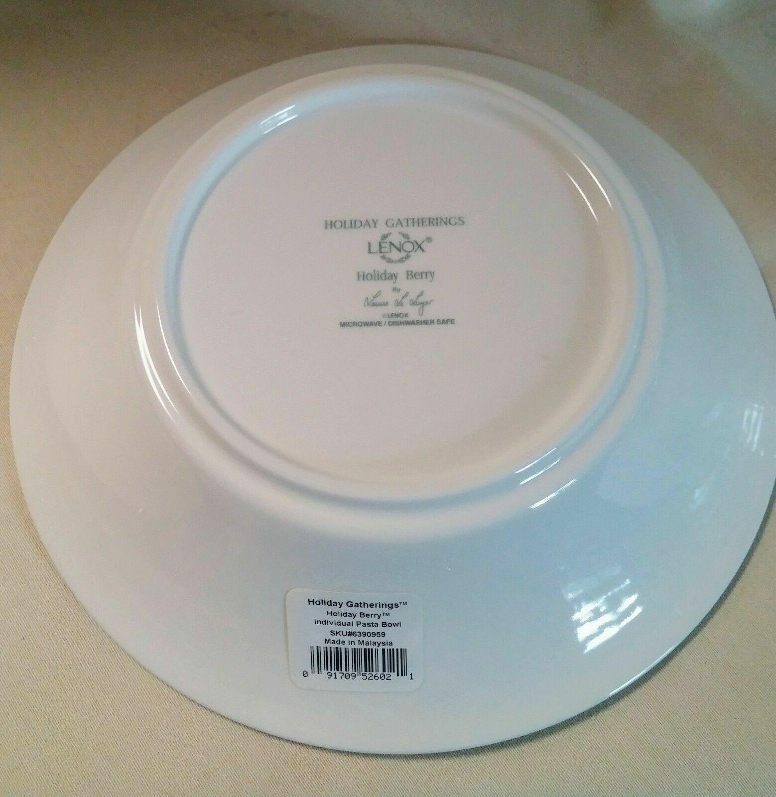 LENOX HOLIDAY GATHERINGS Pasta Bowl  - $39.95