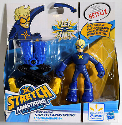 "STRETCH ARMSTRONG AND THE FLEX FIGHTERS 4"" FLEX-TREME ACTION FIGURE Walmart"