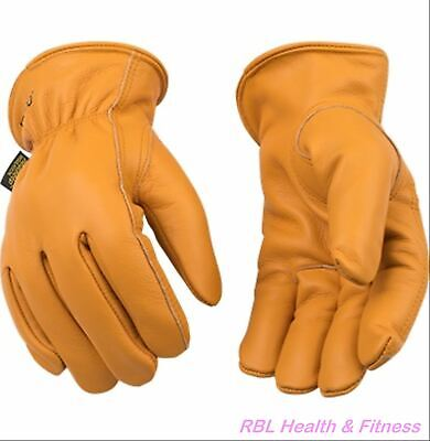 Kinco 81hk Lined Grain Buffalo Driver Gloves - Leather Work Ranch Farm Winter