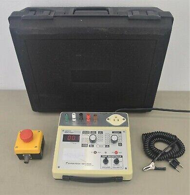 Dynatech Nevada 232m Safety Analyzer Ecg Idec Fb Control Box W Case 20732