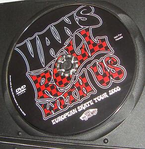 VANS-Rodillo-Con-Us-Skate-DVD-Europeo-Skate-Tour-2008-NUEVO