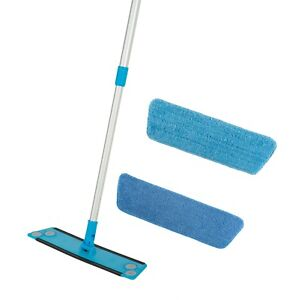 Simplee Cleen Microfiber Swivel House Mop Kit with Two (2) Microfiber Pads
