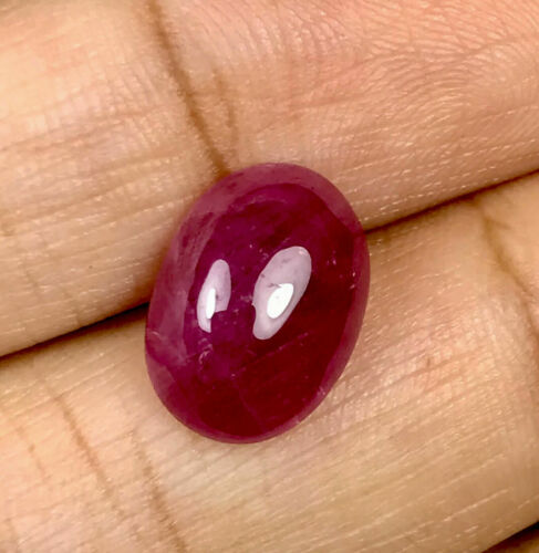 6.11cts GFCO Certified Natural Normal Heat Burma Ruby Loose Gemstone