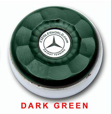 Zieglerworld Table Shuffleboard Weights Pucks Silver   Dark Green Colors + Bonus