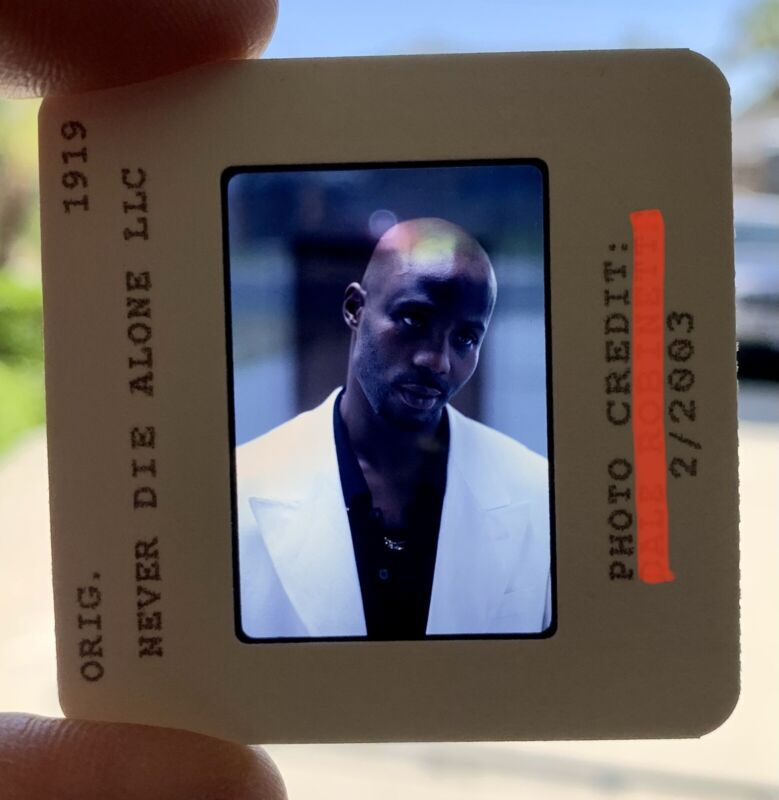 Rare DMX Test Slide Press Photo NEVER DIE ALONE Movie Photography Album Lp Cd