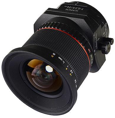 Rokinon 24mm F3.5 Wide Angle Tilt Shift Lens for Sony E Mount Full (Sony E Mount Wide Angle Full Frame)