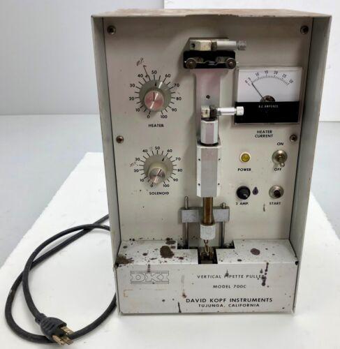 x1 David Kopf Instruments DKI Vertical Pipette Puller Model 700c Free Shipping