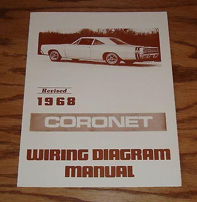 1968 Dodge Coronet Wiring Diagram Manual 68