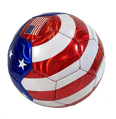 New Football Ball - New USA Flag Football Soccer Ball All Weather Sporting Goods U.S Official Size 5