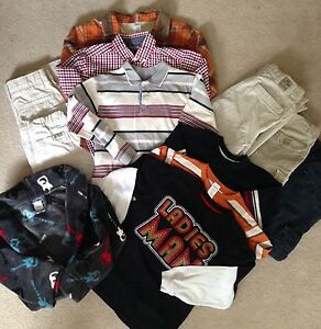 Boy's lot of size 7 clothes - great brands EUC