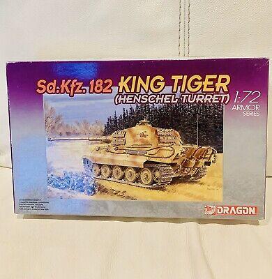 DRAGON 7246 1/72 King Tiger Sd.kfz.182 (henschel Turret)