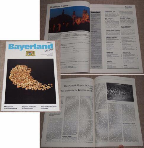 BAYERLAND Ausgabe Nr. 4 Dezember 1988