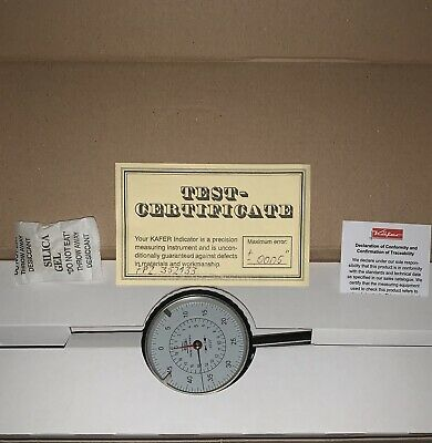 New Swiss Precision Instruments 2 Dial Indicator Authenticity Guaranteed.