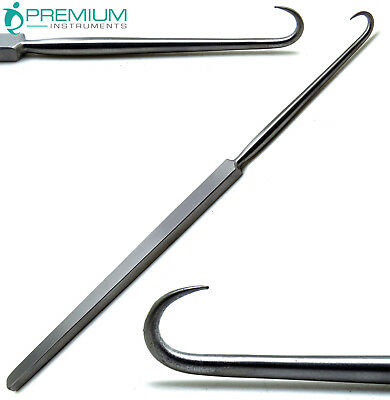 Surgical Retractor Joseph Skin Single Hook Sharp Prong 6.25 Flat Handle Tools