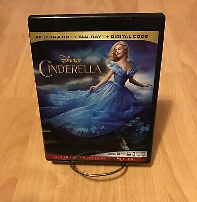 Halloween 2019 Music (Disney's Live Action Cinderella (2015) 4K UHD Blu-ray / Artwork /)