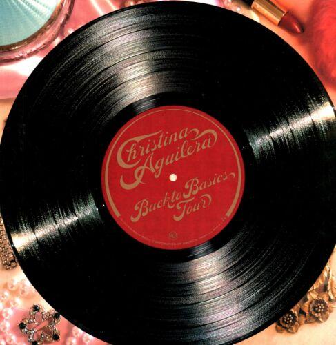 CHRISTINA AGUILERA 2007 BACK TO BASICS TOUR CONCERT PROGRAM BOOK / NMT 2 MINT