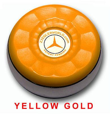 Zieglerworld Table Shuffleboard Pucks Weights Black yellow Gold Colors + Bonus