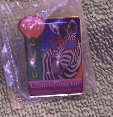 2010 LAUNCH DIRECTOR 39TH SERVING BALLOONISTS SINCE 1972 BALLOON PIN