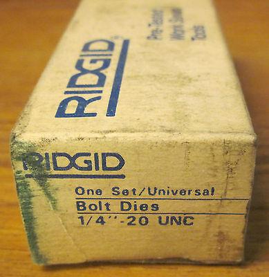Rigid 14- 20 Unc High Speed Bolt Dies