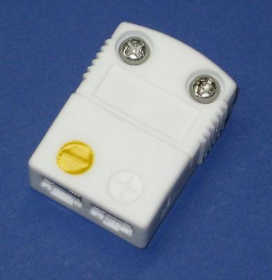 High Temperature Ceramic Miniature Mini K-type Thermocouple Female Connector