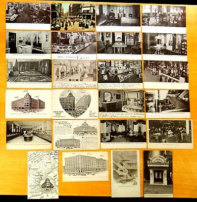 24 Advertising Postcards Jordan Marsh Company Store & Annex Boston MA 1905-1912](Party Store Ma)