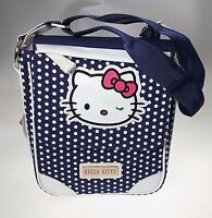 Tracolla Media Verticale Hello Kitty Pois Blue By Cartorama - hello kitty - ebay.it