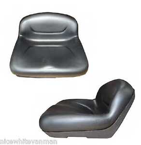 RIDE ON MOWER LOW BACK SEAT GARDEN TRACTOR SEAT