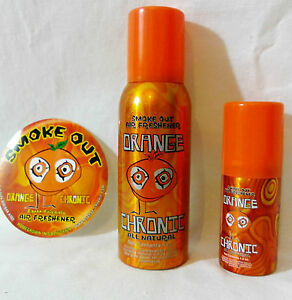 Orange chronic smoke out super strong citrus orange for Really strong air freshener