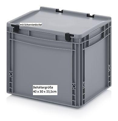 40x30x33,5 cm Werkzeug Behälter Kiste Box für Büro Werkstatt Lager Transport NEU