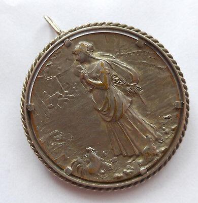 Medaille cruce et aratro  --institut agricole de beauvais-- broschiert