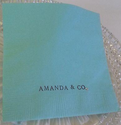 Breakfast At Tiffany Wedding, Bridal Shower, Party, Event Custom Napkins](Tiffany And Co Bridal Shower)