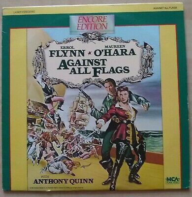 Against all Flags - Laserdisc - 12 INCH DISC - 1952