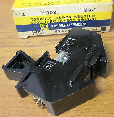 Square D 9080 Ks-1 Disconnect Switch
