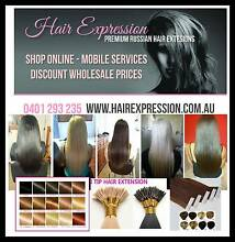 Hair Extensions $390 SPECIAL Full Head Tape, Beads, Wax Brisbane Region Preview