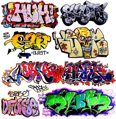 O Scale Custom Graffiti Decals #32 - Weather Your Box Cars, Gondolas & Hoppers!