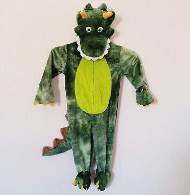 Lizard Costume (Koala Kids Green Dragon Lizard Crocodile Warm Hoodie Plush Costume 9 To 12 M)