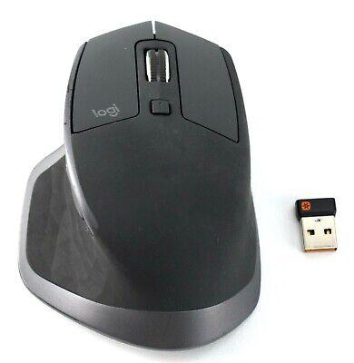 PLEASE READ GENUINE Logitech MX Master 2S Wireless Mouse M-R0066 Black - 4178kh