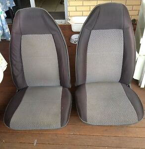 1986 Subaru Brumby Front Seats (pair) Everton Park Brisbane North West Preview